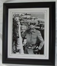 "CMLREBF Clayton Moore - ""The Lone Ranger"" signed"